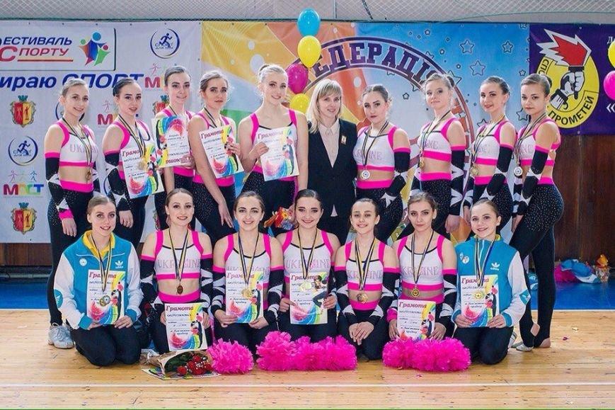 Черлидеры из Каменского стали призерами чемпионата Украины, фото-5