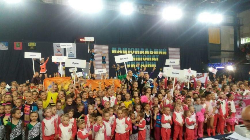 Черлидеры из Каменского стали призерами чемпионата Украины, фото-1