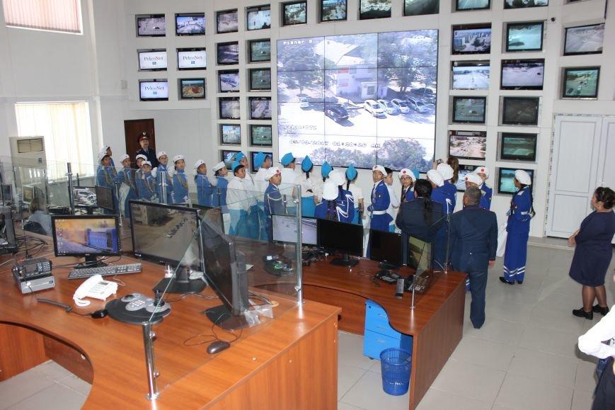 В Актау юные инспекторы движения посетили музей ДВД Мангистауской области, фото-11