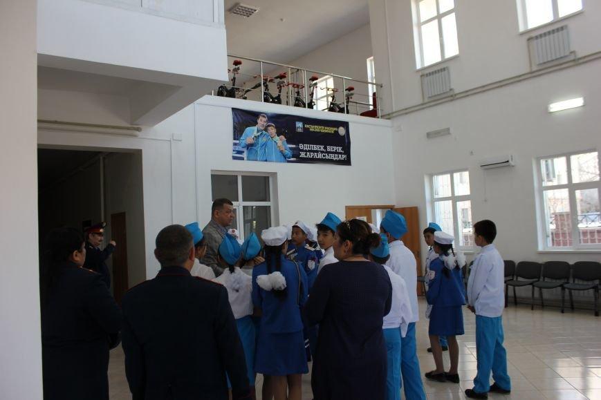 В Актау юные инспекторы движения посетили музей ДВД Мангистауской области, фото-4
