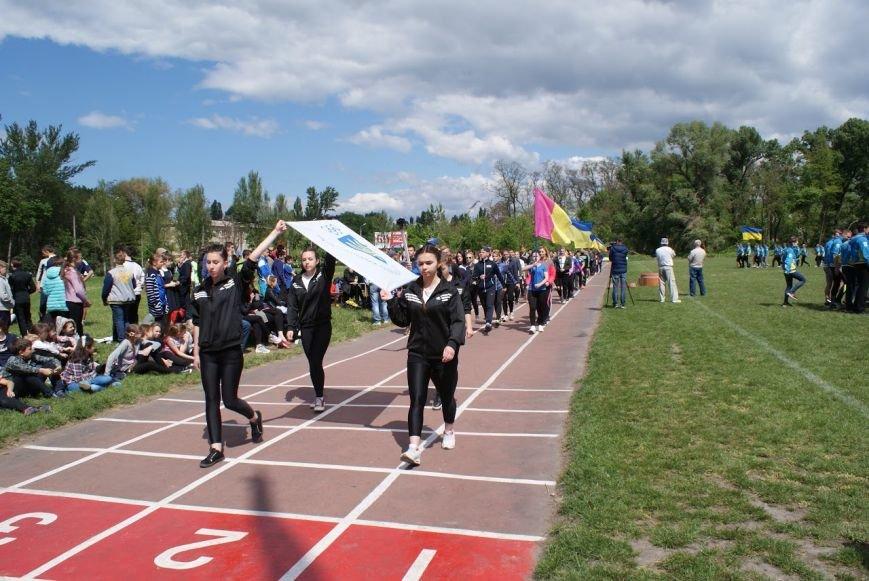 В Южном районе Каменского состоялось открытие футбольного поля, фото-5