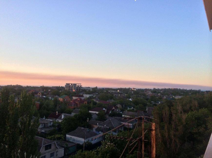 Густой шлейф на весь горизонт. Мариупольские заводы делают выбросы по ночам (ФОТО), фото-3