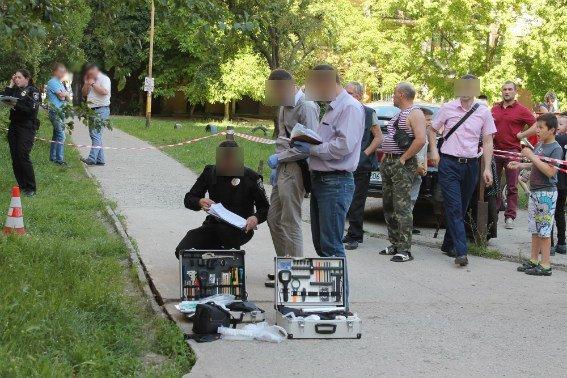 В Ужгороді поліцейський отримав кулю у голову, але все одно затримав грабіжника: фото, фото-4