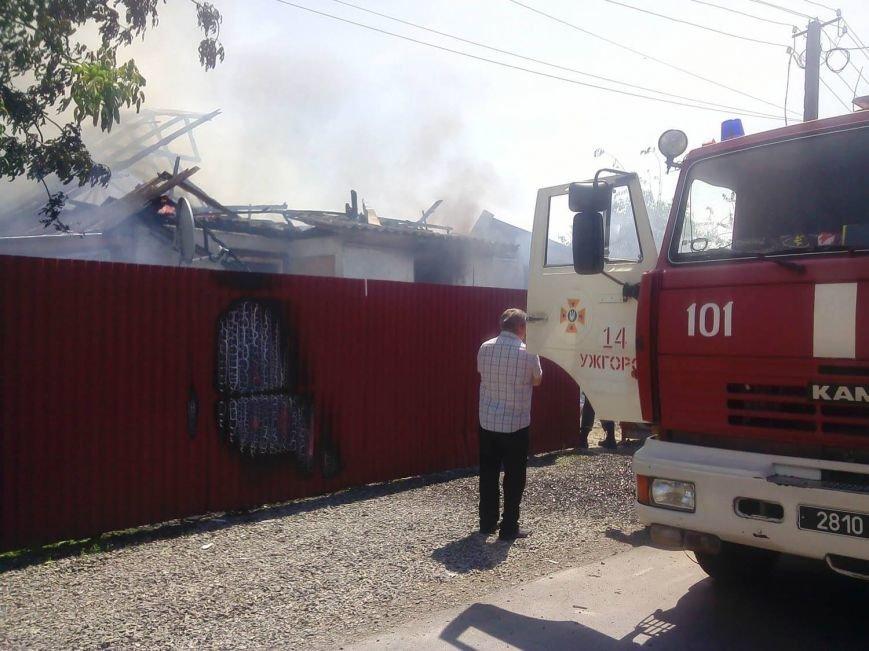 Ужгородські рятувальники розповіли про резонансну пожежу у Розівці: фото, фото-1