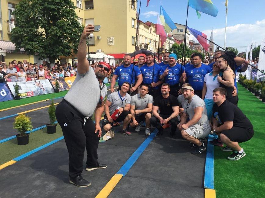 У Мукачеві відбувся кубок Європи зі стронгмену: фото, фото-1