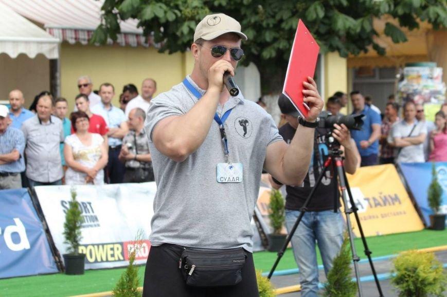 У Мукачеві відбувся кубок Європи зі стронгмену: фото, фото-7