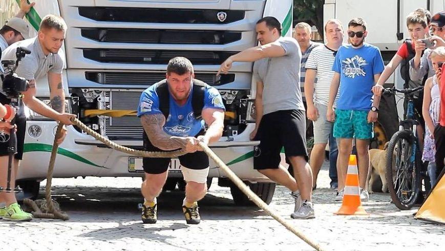 У Мукачеві відбувся кубок Європи зі стронгмену: фото, фото-2