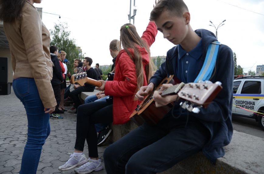 В Каменском открылся Фестиваль уличной музыки, фото-1
