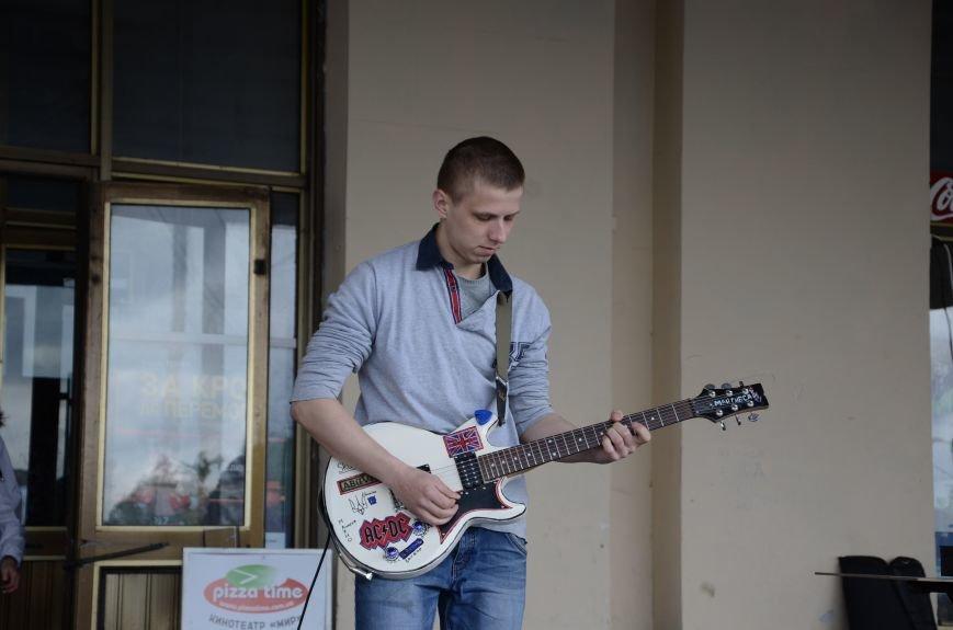 В Каменском открылся Фестиваль уличной музыки, фото-9