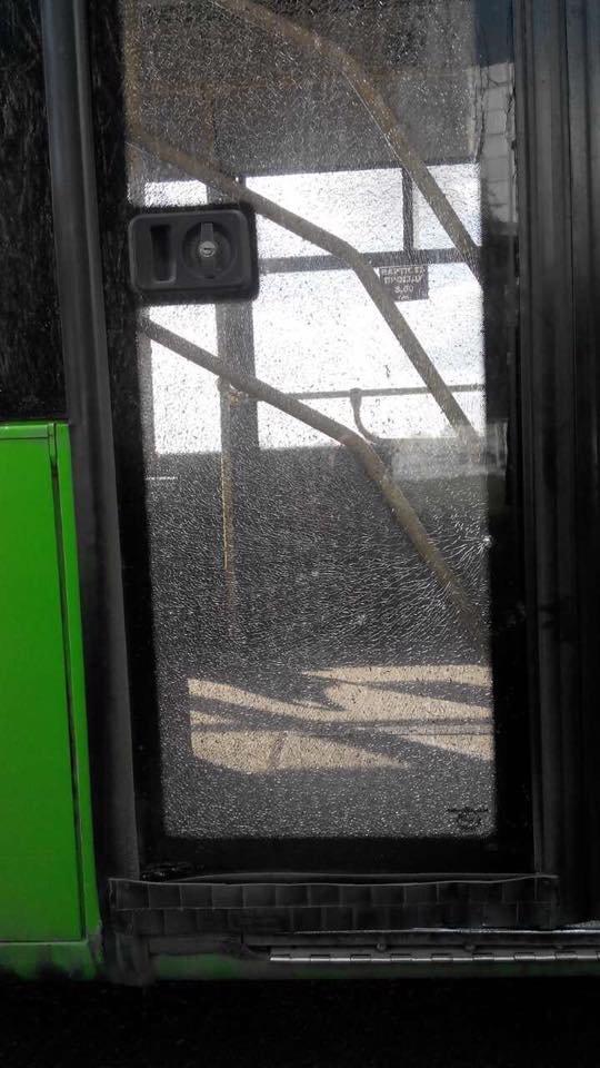 В Харькове неизвестные обстреляли троллейбус (ФОТО), фото-2