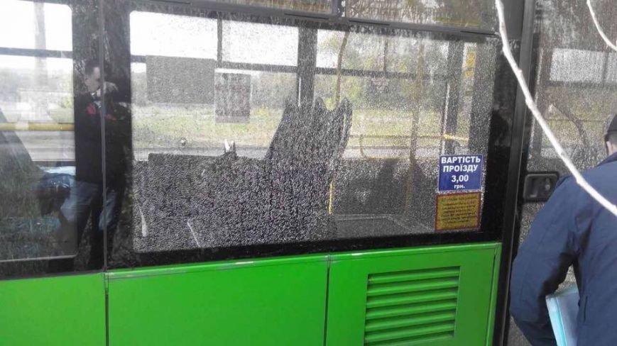В Харькове неизвестные обстреляли троллейбус (ФОТО), фото-3