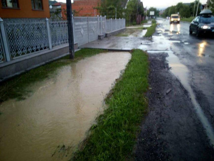 Негода на Закарпатті - підтоплено близько ста дворогосподарств: фото, фото-2