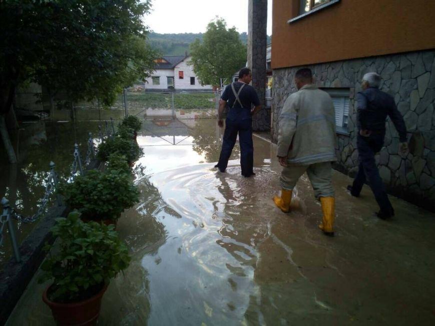 Негода на Закарпатті - підтоплено близько ста дворогосподарств: фото, фото-6