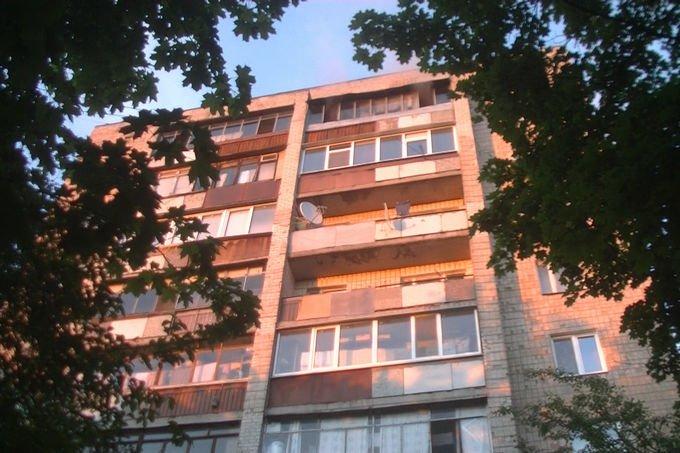 В Харькове спасатели эвакуировали людей из горящей девятиэтажки (ФОТО), фото-2