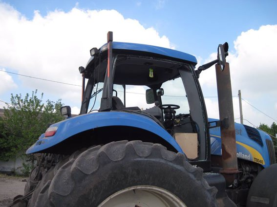 В Донецкой области трактор наехал на мину (ФОТО), фото-2