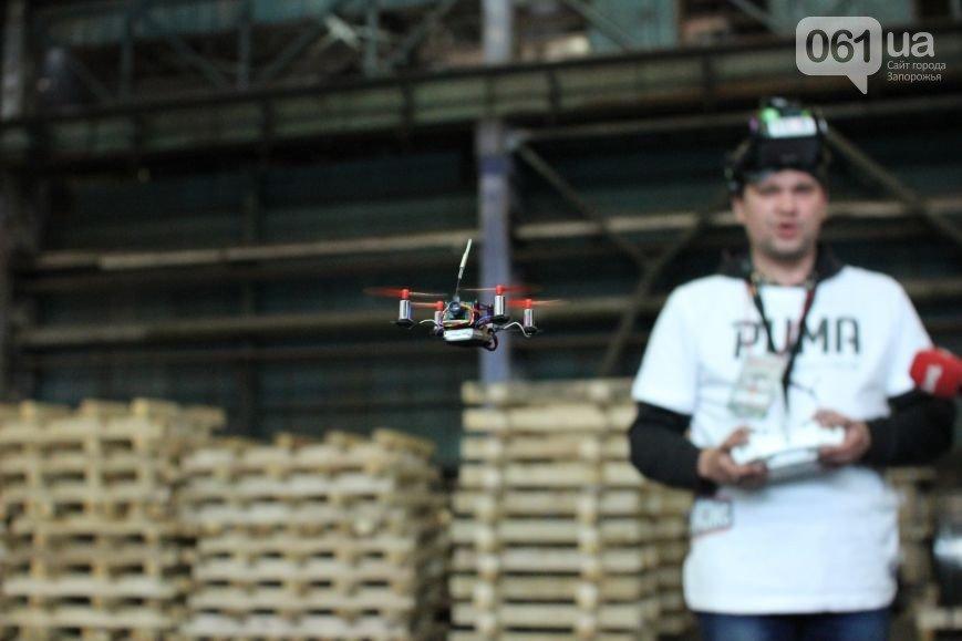 В Запорожье прошли соревнования по дрон-рейсингу, фото-2