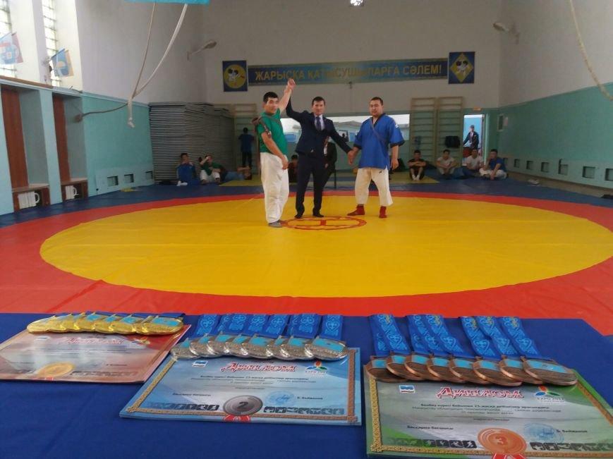В Актау впервые в истории региона прошел чемпионат по борьбе на поясах, фото-3