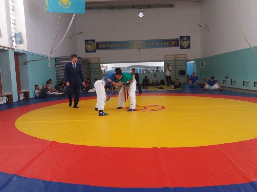 В Актау впервые в истории региона прошел чемпионат по борьбе на поясах, фото-2