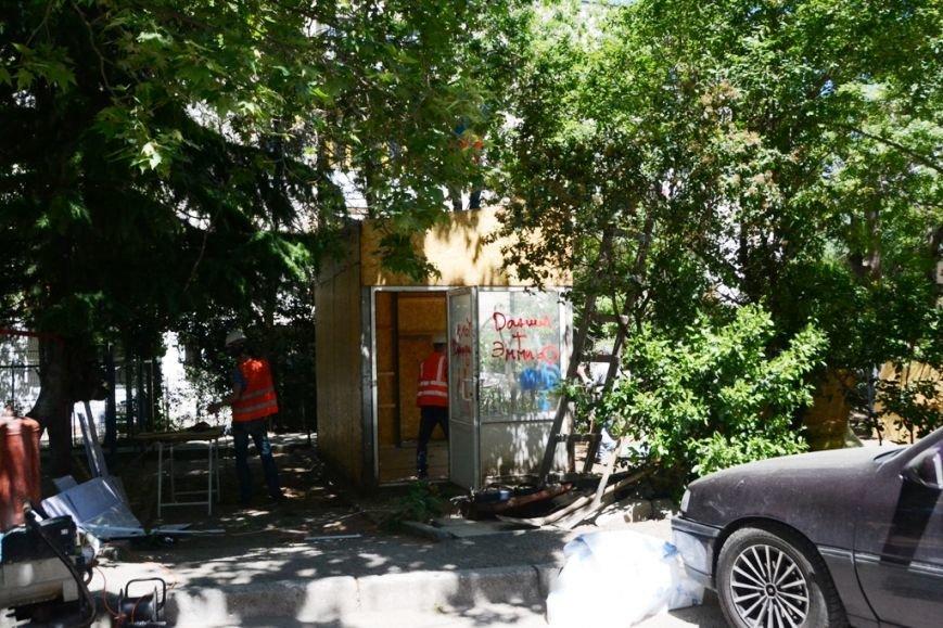 В Ялте продолжается работа по демонтажу незаконных строений (6)