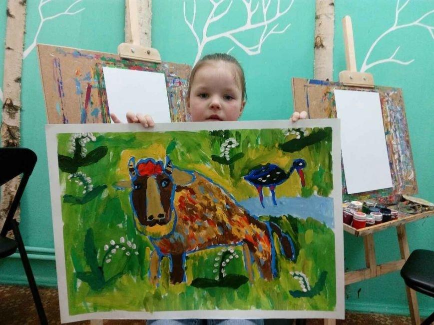 Много рисуют и с удовольствием. Узнали, как дела у победителей детского конкурса рисунка на Gorod214.by, фото-7