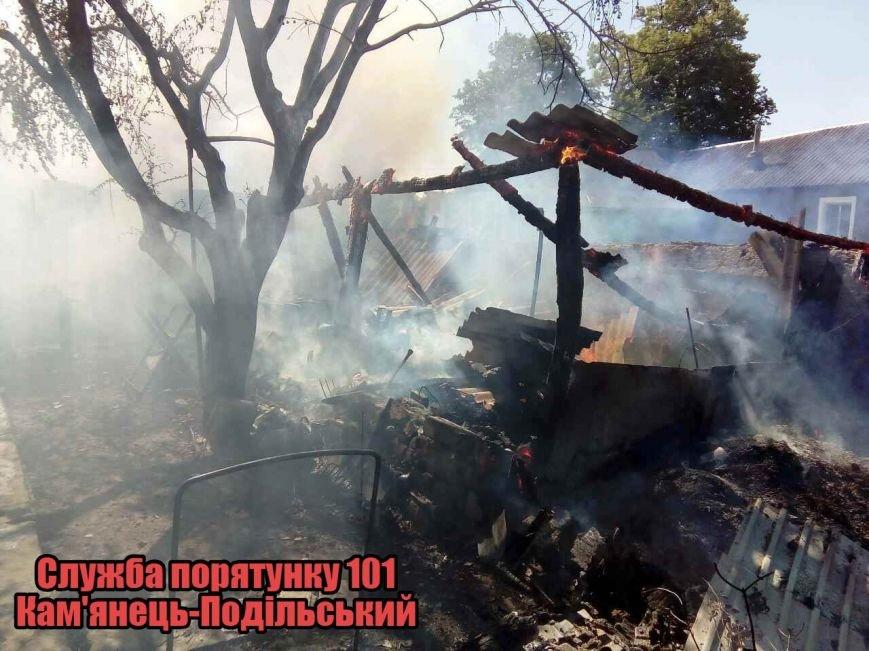 На Кам'янеччині під час пожежі постраждав 9-річний хлопчик (фото), фото-1