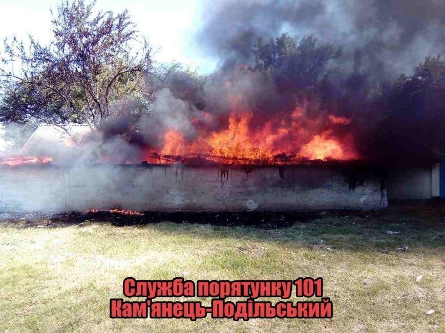 На Кам'янеччині під час пожежі постраждав 9-річний хлопчик (фото), фото-4