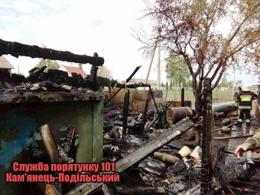 На Кам'янеччині під час пожежі постраждав 9-річний хлопчик (фото), фото-2