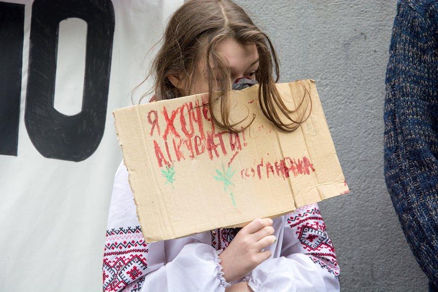 Курить без паранойи: в Киеве прошла акция за декриминализацию марихуаны, фото-11