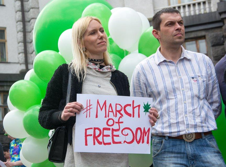 Курить без паранойи: в Киеве прошла акция за декриминализацию марихуаны, фото-2