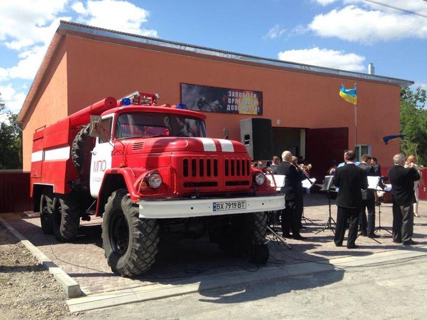 Колибаївська ОТГ поповнилась пожежним депо та амбулаторією сімейної медицини, фото-2