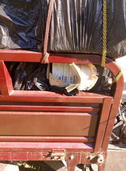 """Из """"ДНР"""" на подконтрольную Украине территорию пытались вывезти 14 тысяч пачек контрафактных сигарет (ФОТО), фото-1"""