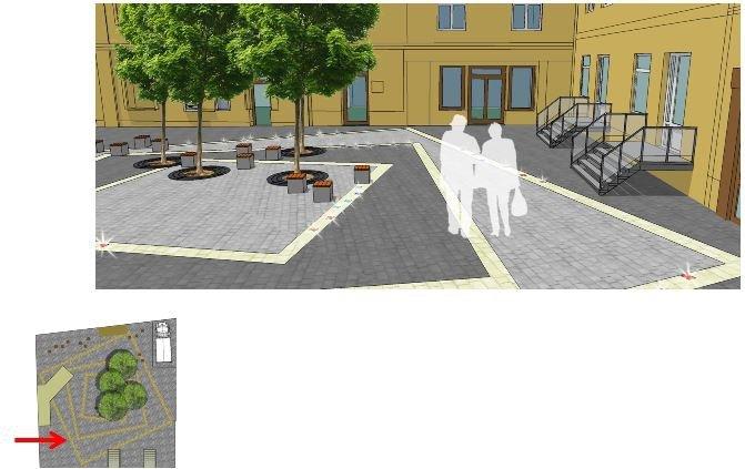 Як виглядатиме сквер на вулиці Дорошенка, 9 після реконструкції: візуалізація, фото-2