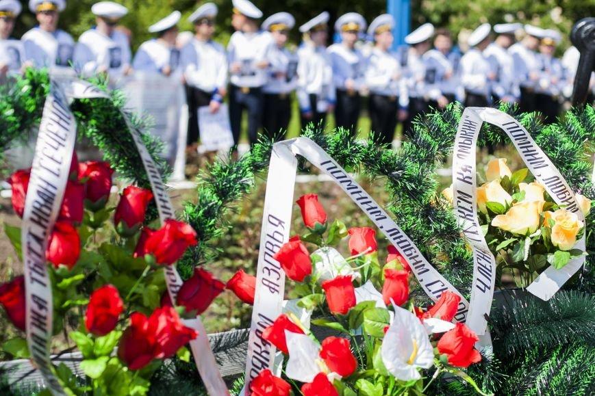 В Мариуполе почтили память моряков, погибших в мирное время и в АТО (ФОТО), фото-8