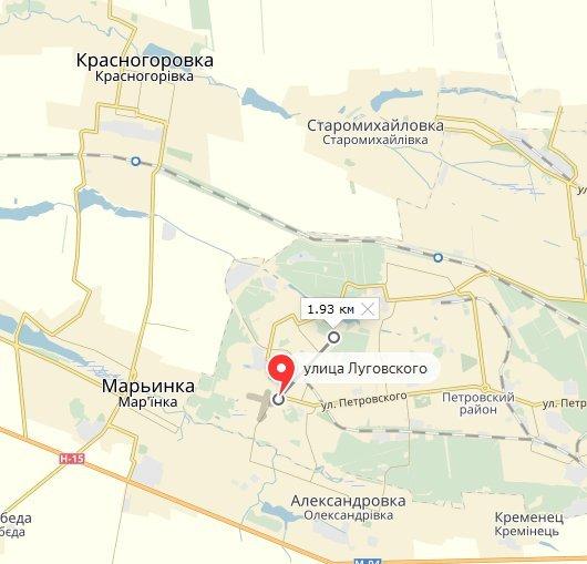 ОБСЕ установила, что автостанцию «Трудовская» в Донецке обстреляли из гранатомета, фото-1