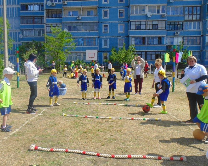 Дошкольники Каменского учились играть в футбол и баскетбол, фото-2