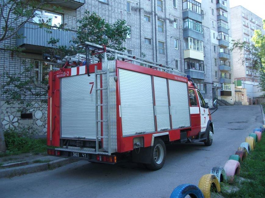 В Каменском горела квартира, фото-3