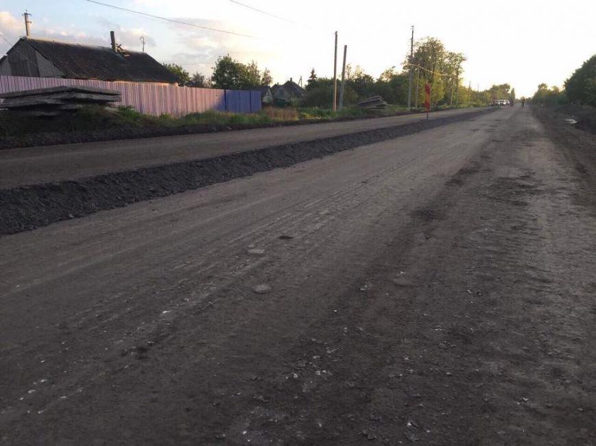 Днепропетровцы ремонтируют трассу на Донецк (ФОТО), фото-2