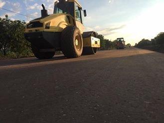 Днепропетровцы ремонтируют трассу на Донецк (ФОТО), фото-3