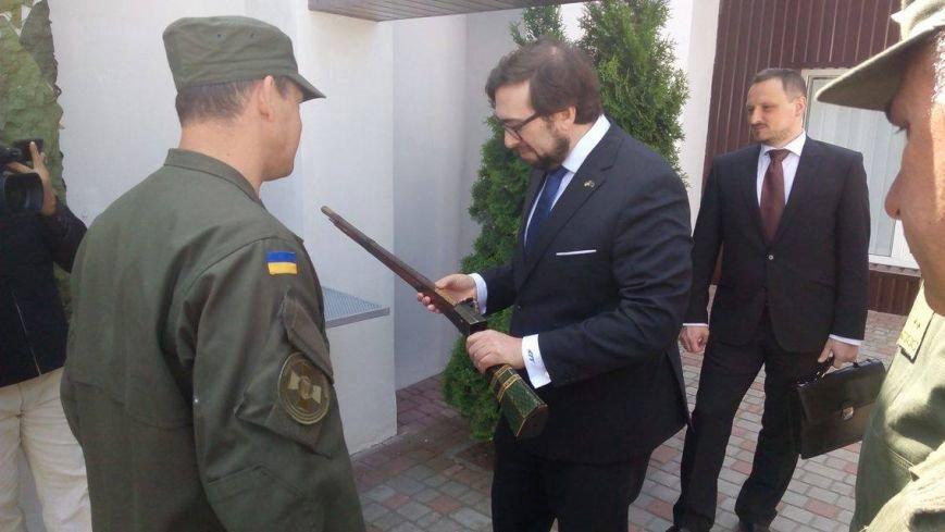 Глава НАТО в Украине посетил Академию Нацгвардии и представил программу обучения для курсантов (ФОТО), фото-6