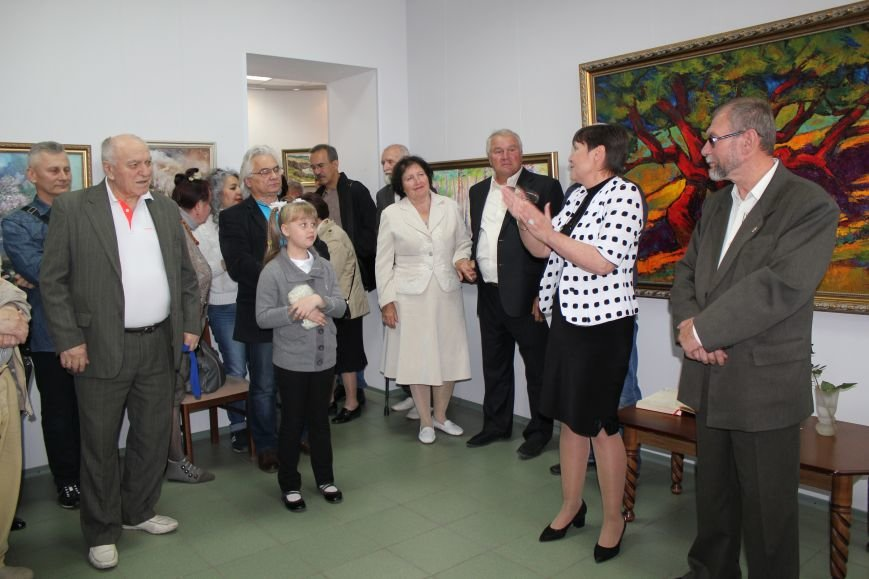 В Мариуполе мастера ковки поздравили с юбилеем и открытием выставки (ФОТО), фото-6
