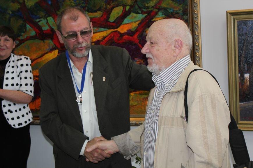 В Мариуполе мастера ковки поздравили с юбилеем и открытием выставки (ФОТО), фото-14
