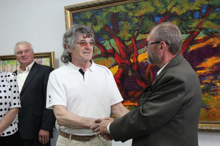 В Мариуполе мастера ковки поздравили с юбилеем и открытием выставки (ФОТО), фото-10