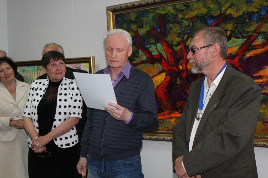 В Мариуполе мастера ковки поздравили с юбилеем и открытием выставки (ФОТО), фото-7