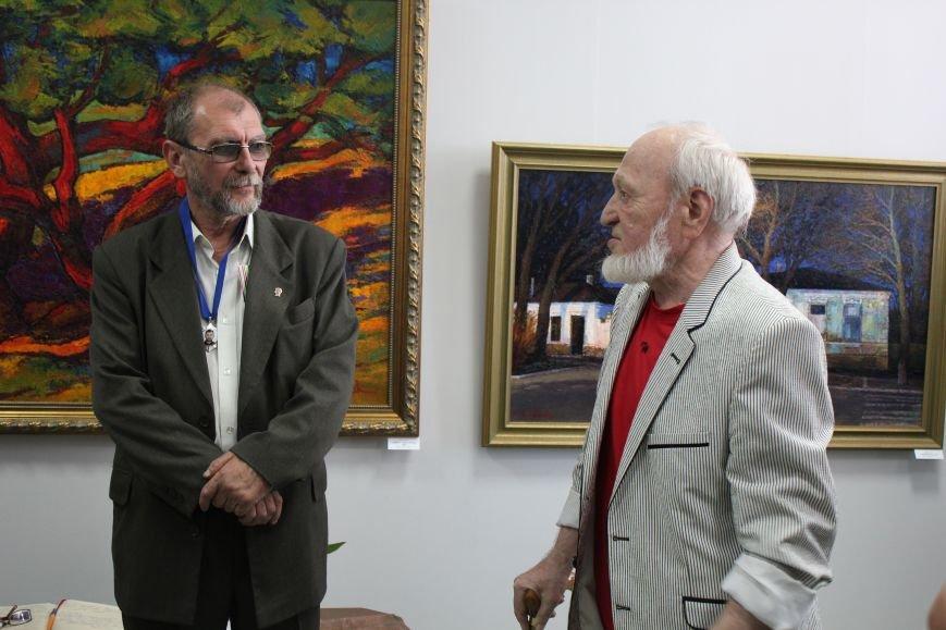 В Мариуполе мастера ковки поздравили с юбилеем и открытием выставки (ФОТО), фото-13