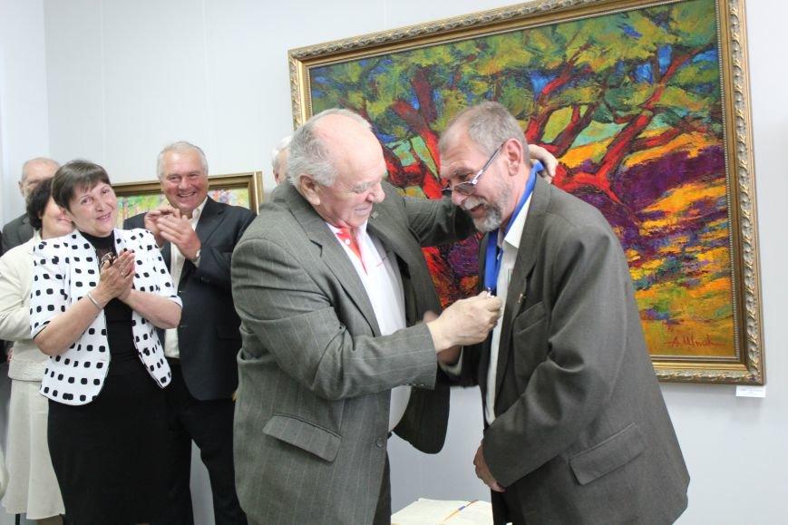 В Мариуполе мастера ковки поздравили с юбилеем и открытием выставки (ФОТО), фото-8