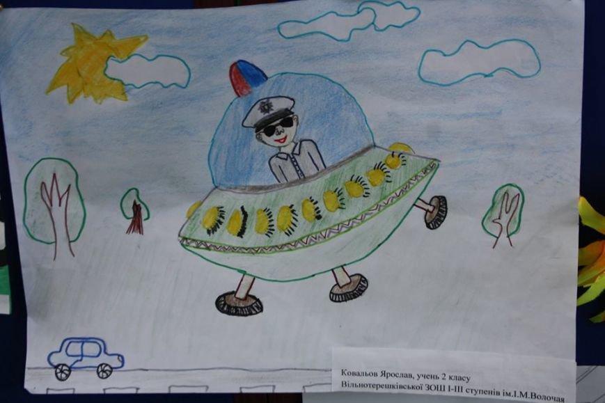 Супермен в летающей тарелке - так видят дети будущего полицейского (ФОТО), фото-4