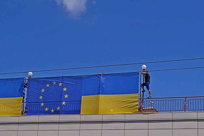 Готовность номер один: что происходит на Потемкинской лестнице перед визитом верховного главнокомандующего (ФОТО), фото-29