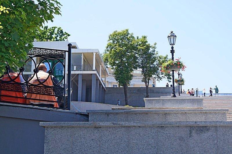 Готовность номер один: что происходит на Потемкинской лестнице перед визитом верховного главнокомандующего (ФОТО), фото-23