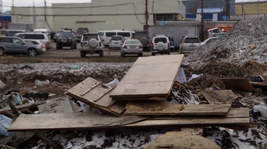 Жители Петропавловска жалуются властям на антисанитарию базы на 8 км, фото-3