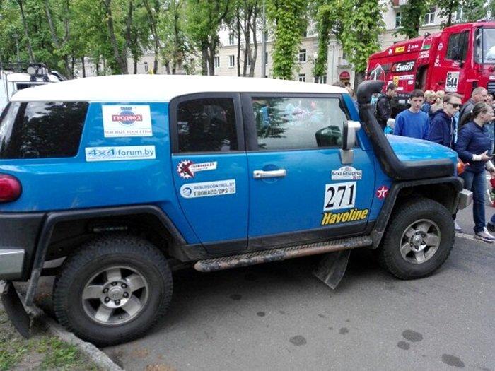 Полоцк готовится к ралли: фоторепортаж с выставки спортивных автомобилей на площади Скорины, фото-8